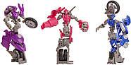 Transformers Toys  Трансформер Три Мотоцикла Арси Хромия Элита-1 Месть Падших Fallen Movie Arcee Chromia Elita, фото 6