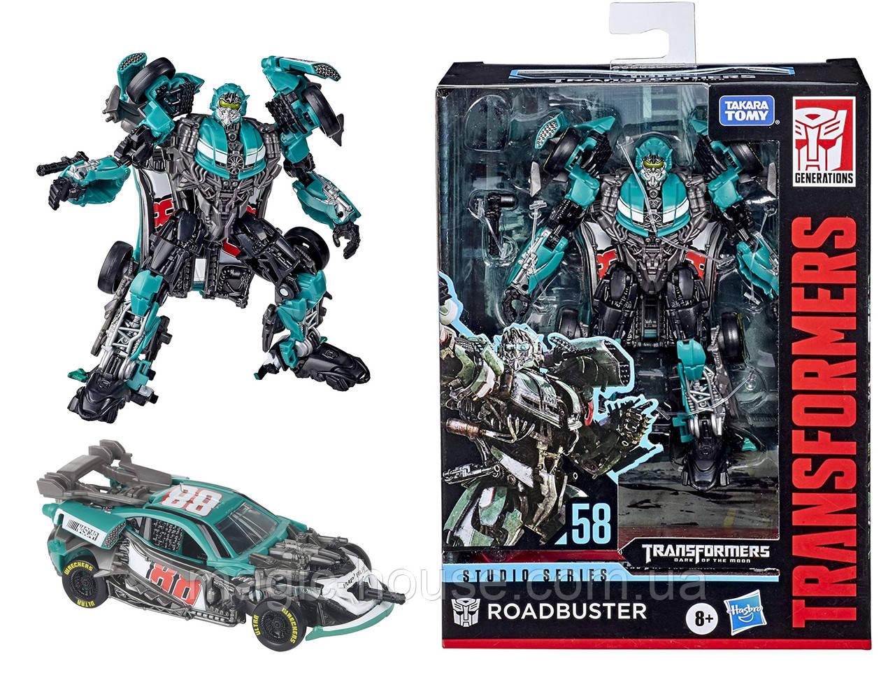 Transformers Roadbuster Трансформер Роудбастер Темная сторона Луны Оригинал от Hasbrо