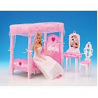 """Игровой набор мебель для кукол Gloria """"Спальня с трюмо"""" 2614"""