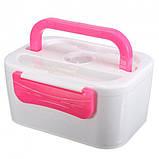 Ланч-бокс с подогревом Lunch Box(12V). Цвет: розовый, фото 2