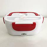 Ланч-бокс с подогревом Lunch Box(12V). Цвет: розовый, фото 6