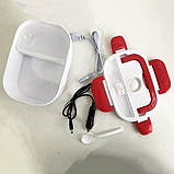 Ланч-бокс с подогревом Lunch Box(12V). Цвет: розовый, фото 8