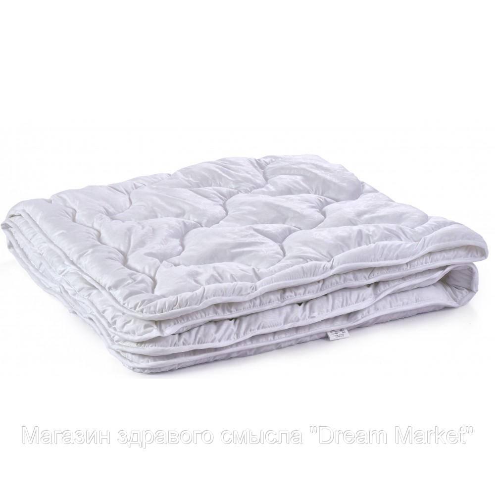 Одеяло гипоаллергенное Polaris Зимнее: микрофибра и силиконизированное волокно, цвет белый, HoReCa 145х210см