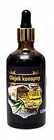 Конопляное масло косметическое, масло из семян конопли нерафинированное 100 ml, Три зерна