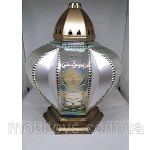 Лампадка стеклянная 50 ч. (33 см.) 2шт / ящ (DKR)