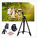 Штатив профессиональная телефона, камеры и фотоаппарата VCT-5208 UTM с bluetooth пультом, фото 3