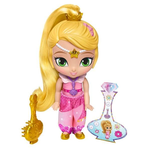 Fisher-Price Кукла Лея Шиммер и Шайн Leah Shimmer Shine Genie Disguise Nickelodeon