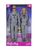 """Кукла с Кеном """"Defa Lucy"""" (в спортивных костюмах) 8360"""