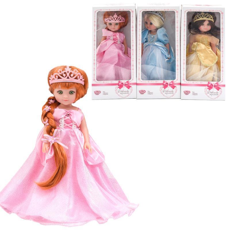Кукла M 4458 I UA (24шт) 38см, муз(укр), 3вида, в