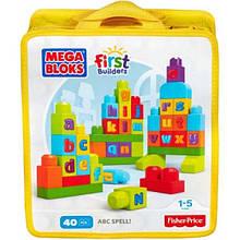 Mega Bloks Конструктор вчимо алфавіт First Builders ABC Spell Playset