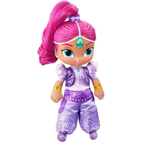 Fisher-Price Шиммер и Шайн мягкая говорящая Шиммер DGM06 Shimmer Shine Talk Sing Shimmer Doll Nickelodeon