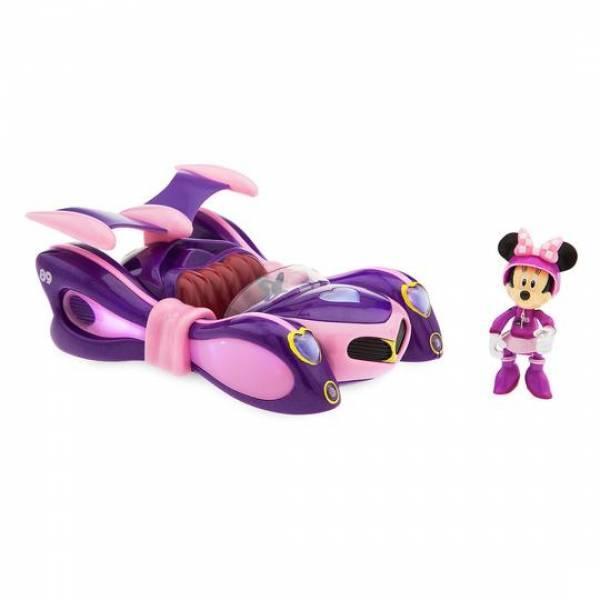 Disney Микки и гонки на родстерах свет, звук Минни маус Mickey & Roadster Racers Super Charged Minnie