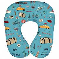 Подушка для путешествий дорожная Travel