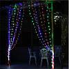 Светодиодная гирлянда LED 100 диодов, цвет мультиколор, 8 режимов, для дома и улицы. 9.5 метра