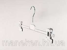 """Вешалка с прищепками для брюк/юбок TREMVERY """"БЮТ-35"""" белая S2white(TO), фото 3"""