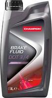 CHAMPION BRAKE FLUID DOT 3/4 1L гальмівна рідина