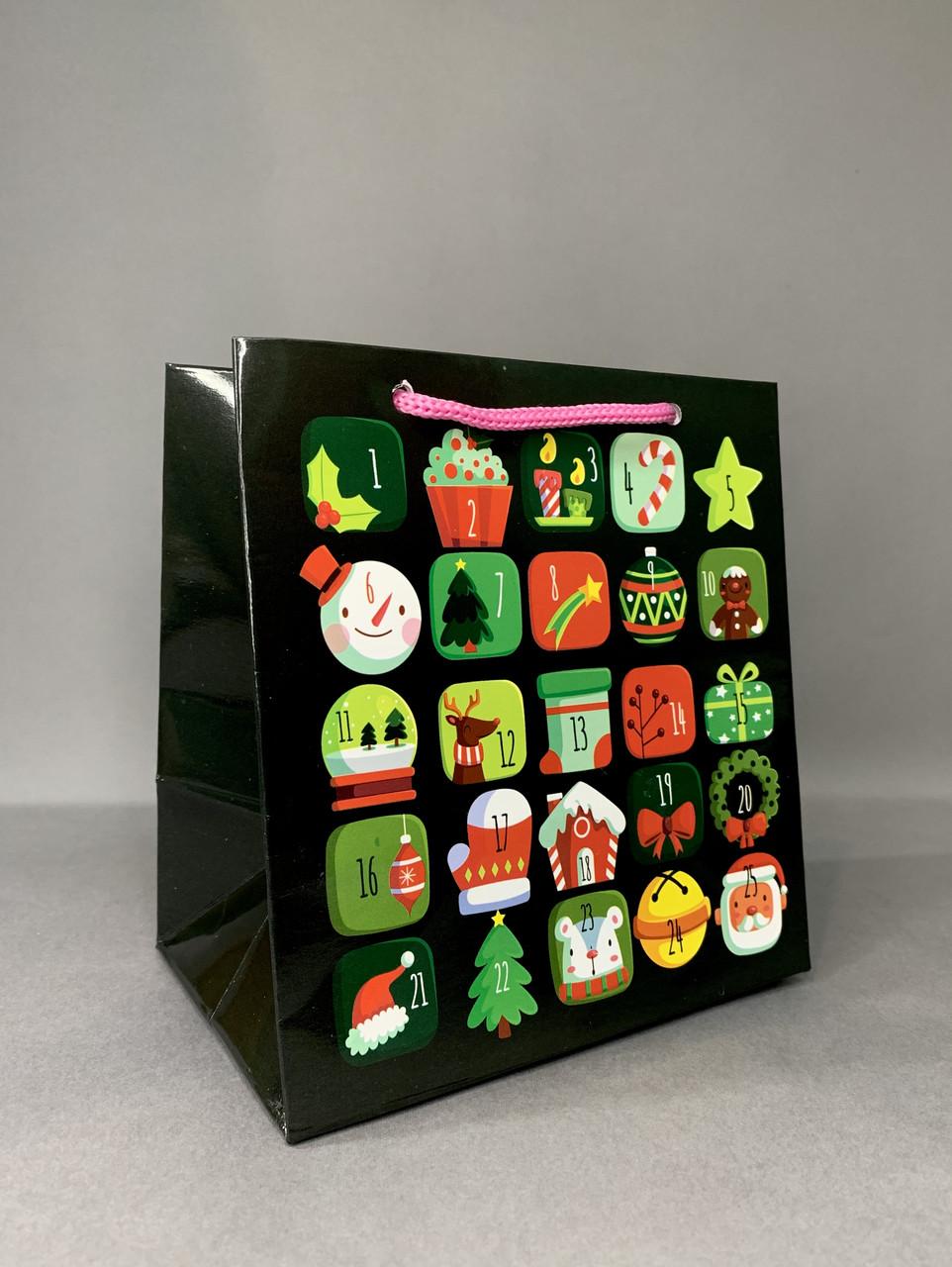 Пакет подарочный #3(14*15*10)