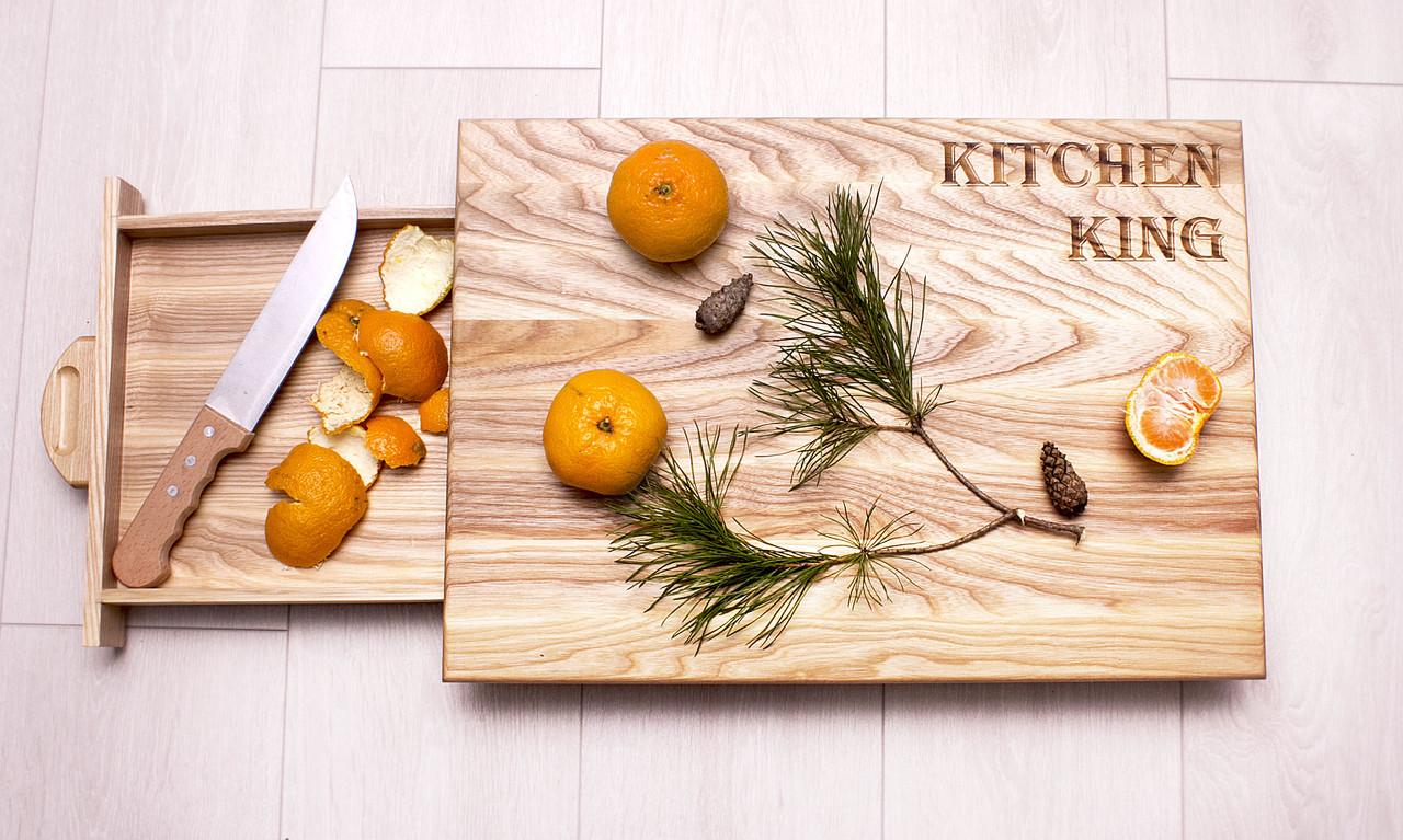Кухонна обробна дошка «KITCHEN KING»