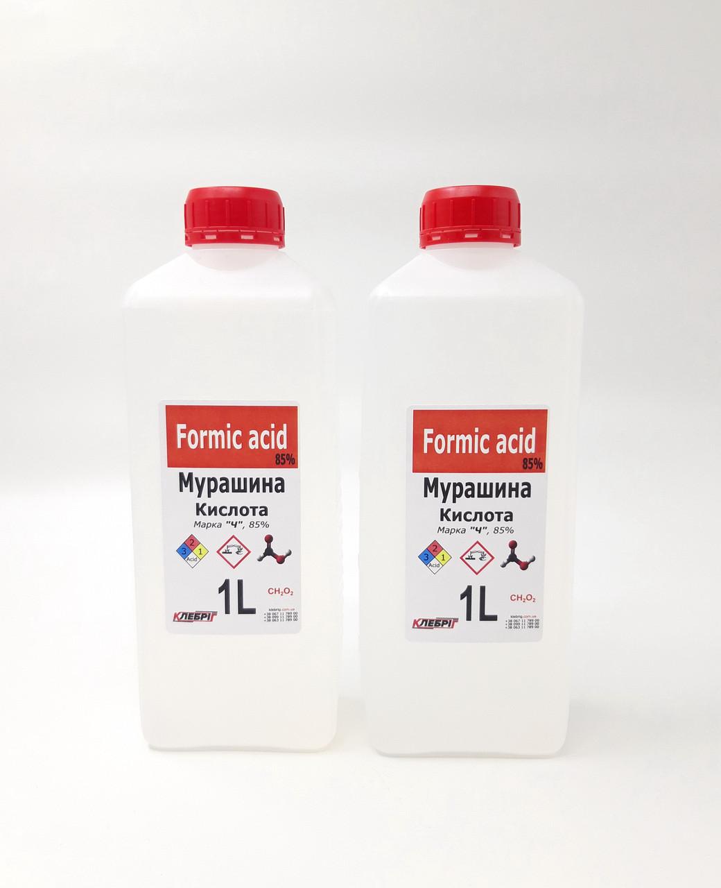 Муравьиная кислота 1л х2шт Мурашина 85%