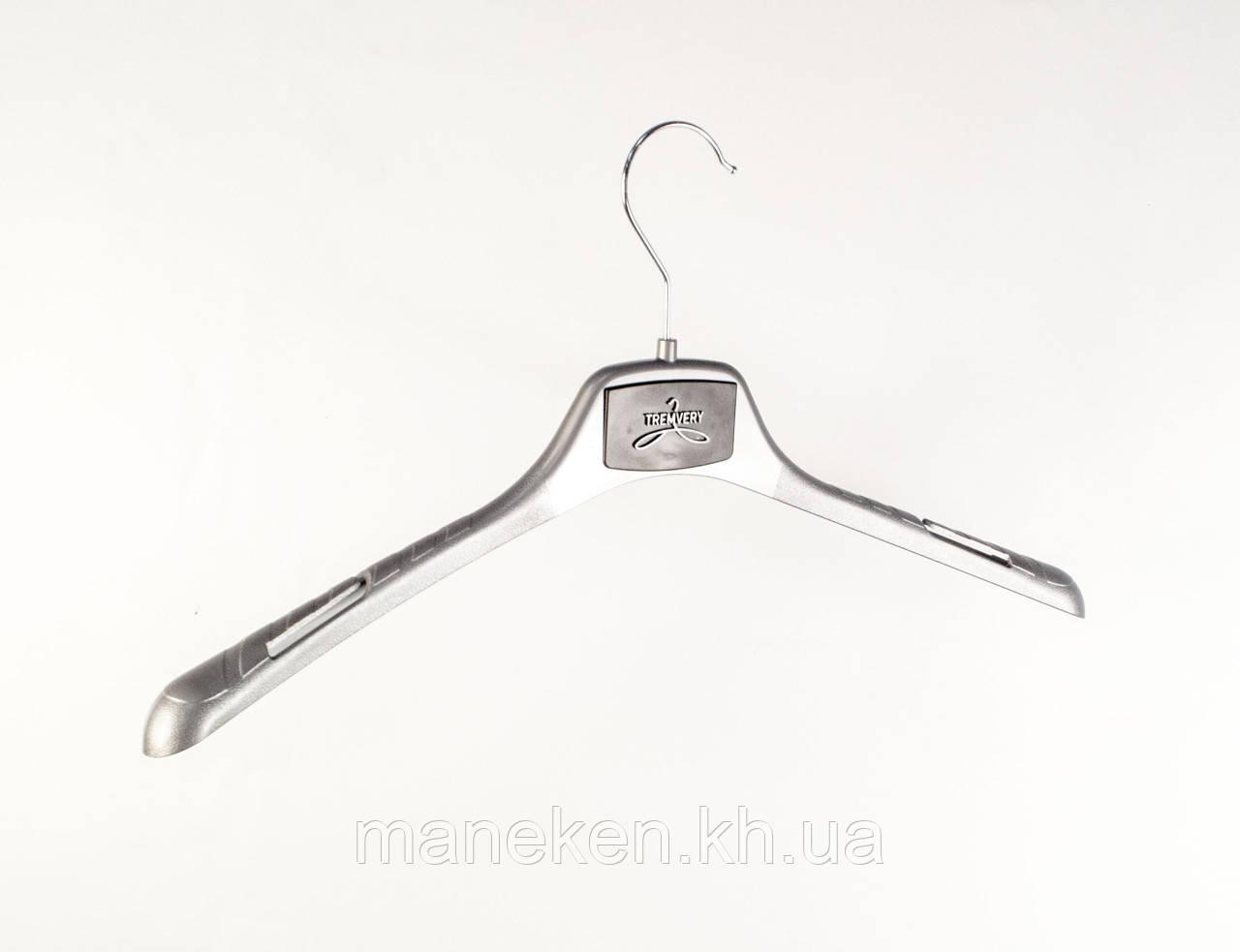 """Вешалка для одежды TREMVERY """"ВОП-42/2,8"""" серебристая (101п) GPSM(G)"""