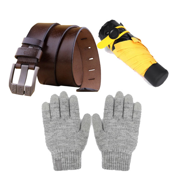 Перчатки, ремни, зонтики