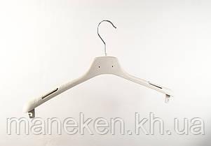"""Вешалка для одежды TREMVERY """"ВОП-42/2,8 - КП """" белая кремовая S2white, фото 2"""