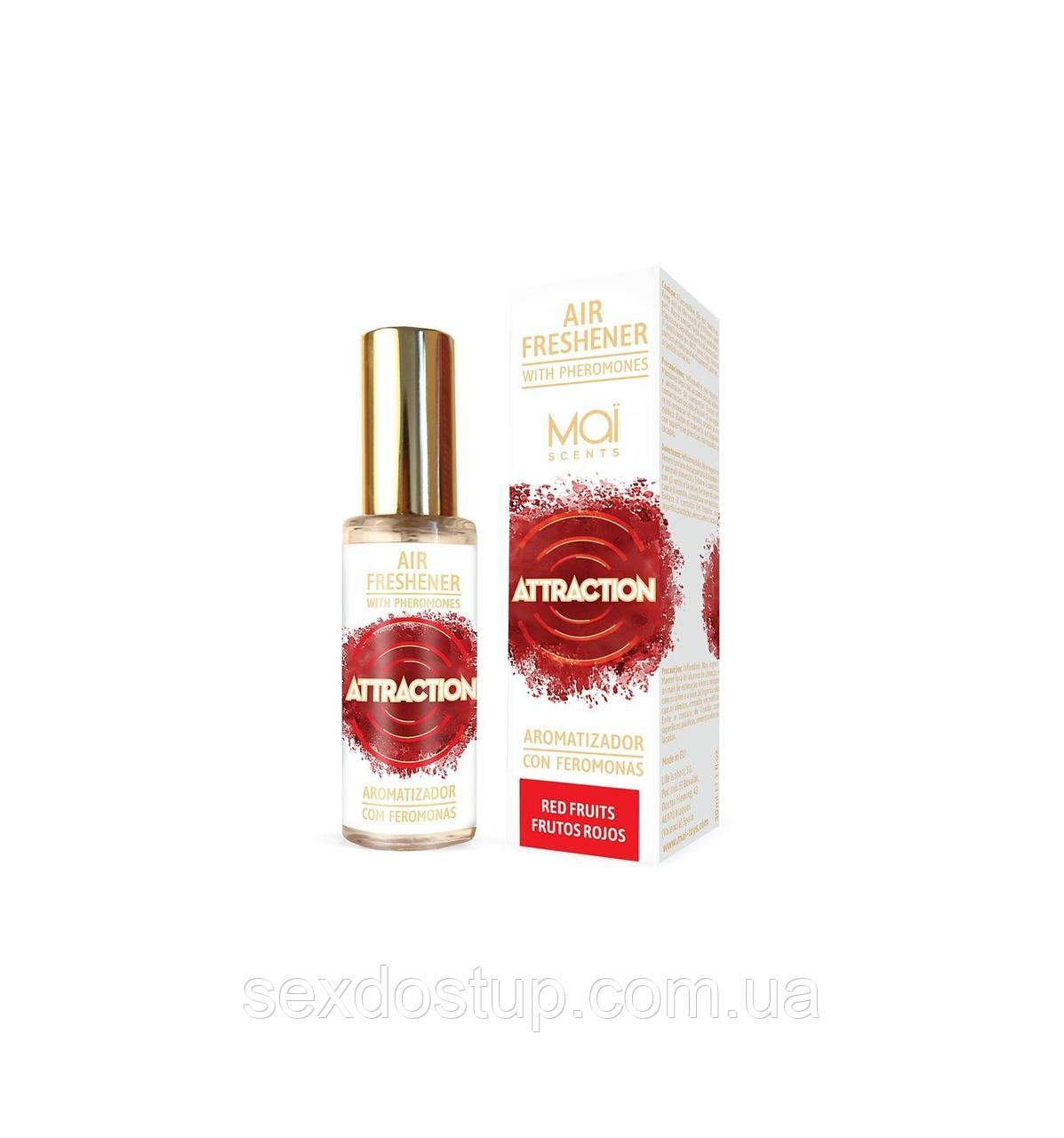 Освежитель воздуха с феромонами и ароматом красных фруктов MAI Air Freshener Red Fruits (30 мл)