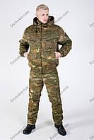 Костюм Камуфляжный Зимний с Комбинезоном для Охоты и Рыбалки РЗ-2 Варан, фото 1