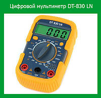 Цифровой мультиметр универсальный DT-830 LN!Акция