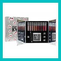 Набор косметики Kylie Silver 5в1!Акция