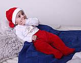 Новогодний костюмчик для малышей Санта (0-6 мес), фото 7