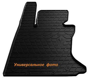 Водительский резиновый коврик для IVECO Trakker (cabin AD/AT) 2013- Stingray