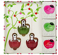 Подарочный набор мини-парфюмов Nina Ricci for women 3 по 30 мл