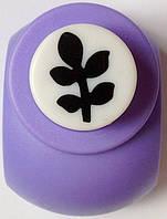 Дырокол фигурный Веточка кнопка 1,8 см