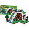 Конструктор Майнкрафт Bela My World 10624 База на водопаде, реплика Lego Minecraft, 747 деталей