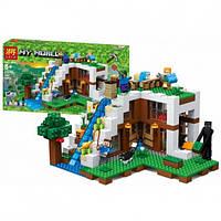 Конструктор Майнкрафт Bela My World 10624 База на водопаде, реплика Lego Minecraft, 747 деталей, фото 1