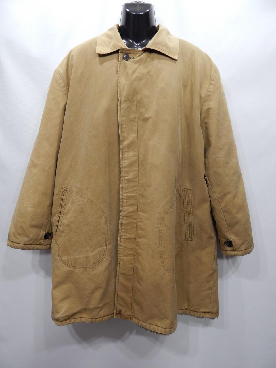 Чоловіча робоча утеплена куртка робоча (парку) на хутрі р. 56-58 батал 001MRZK