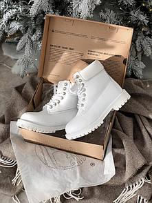 Женские ботинки Timberland, белые