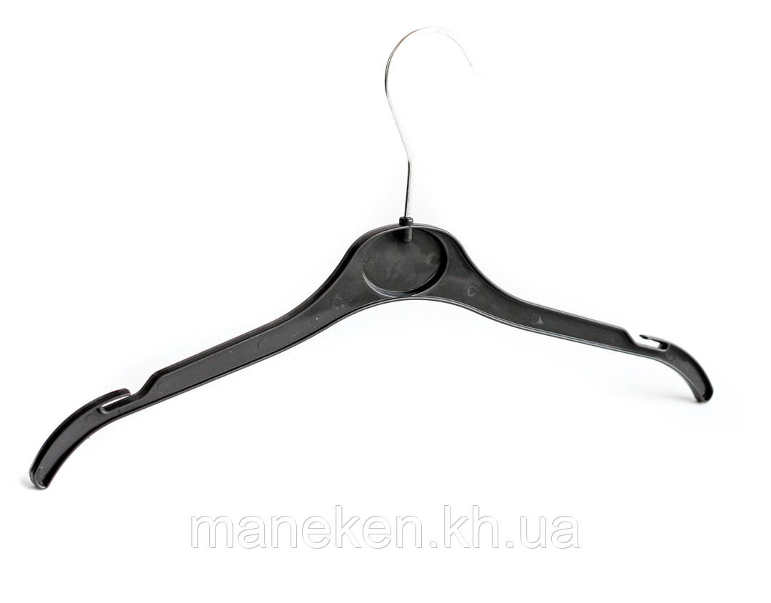 """Вешалка для одежды TREMVERY """"ВТ-2 (41см)"""" черная S3black"""