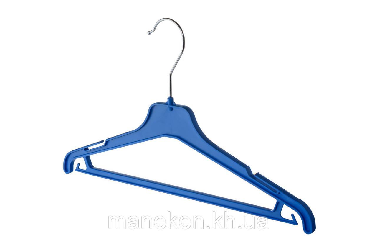 """Вешалка для одежды TREMVERY """"ВКР-35"""" синяя S2color"""