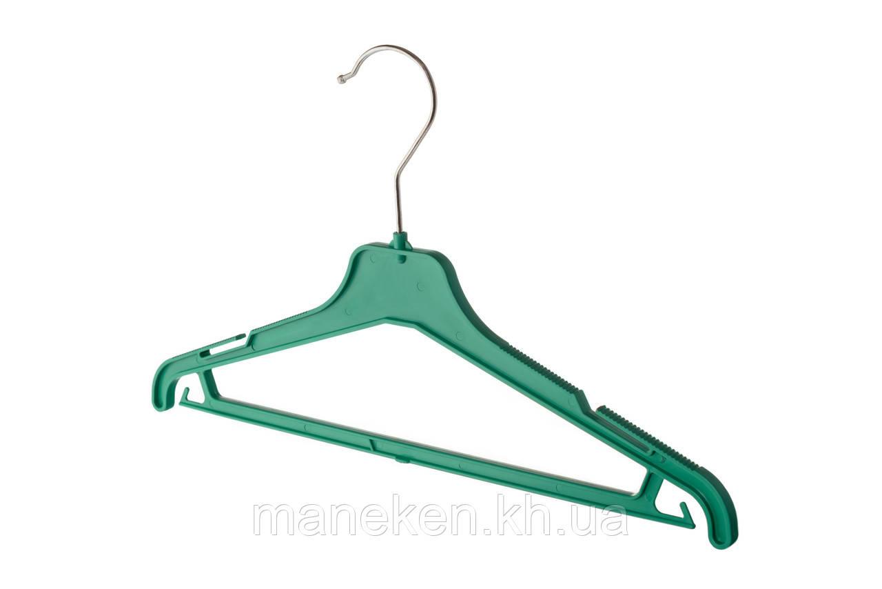 """Вешалка для одежды TREMVERY """"ВКР-35"""" зеленая S2color"""