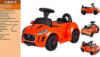Детский электромобиль C1824-O Оранжевый