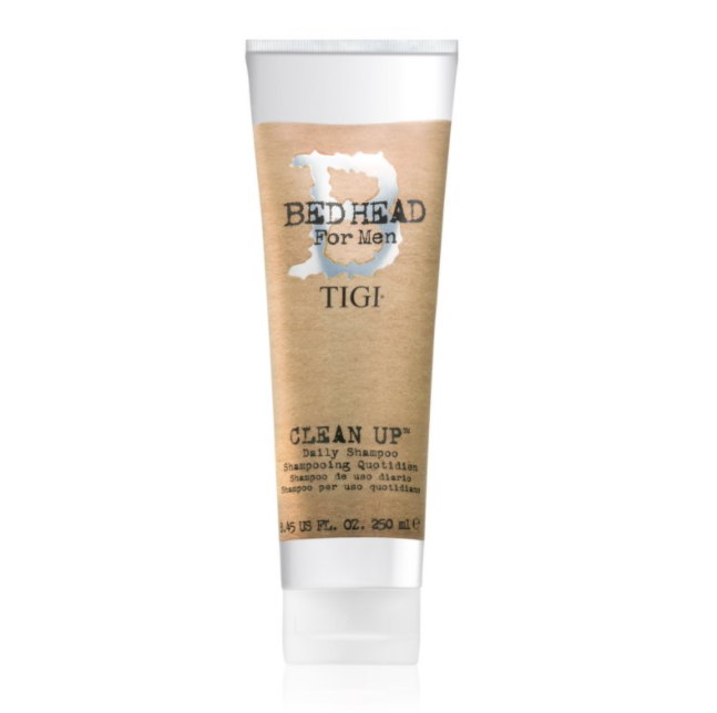 Tigi B For Men Clean Up Daily Shampoo - Ежедневный шампунь для мужчин Tigi Bed, 250 мл