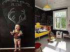 Самоклеящаяся пленка для рисования мелом 200х60 см + 5 мелков, меловая плёнка Сhalky-Мarkee, фото 8