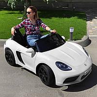 Детский электромобиль Bambi Porsche M 4055AL-1 Белый