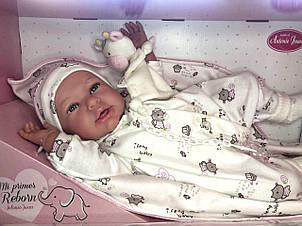 Кукла младенец Mi Primer Reborn Даниэла Antonio Juan 52 см 8163, фото 2