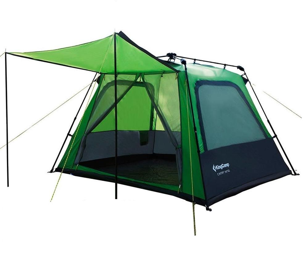 Палатка KingCamp Camp King (KT3096 Green) четырехместная