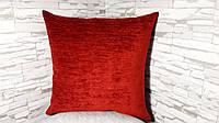Наволочка декоративная  40х40 красная, фото 1