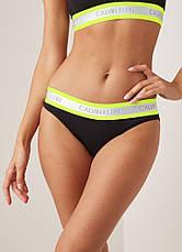 Женские трусы стринги Calvin Klein neon набор 3 штуки, фото 2