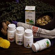 Экстракты растений в таблетках Элит (смеси + витамины)